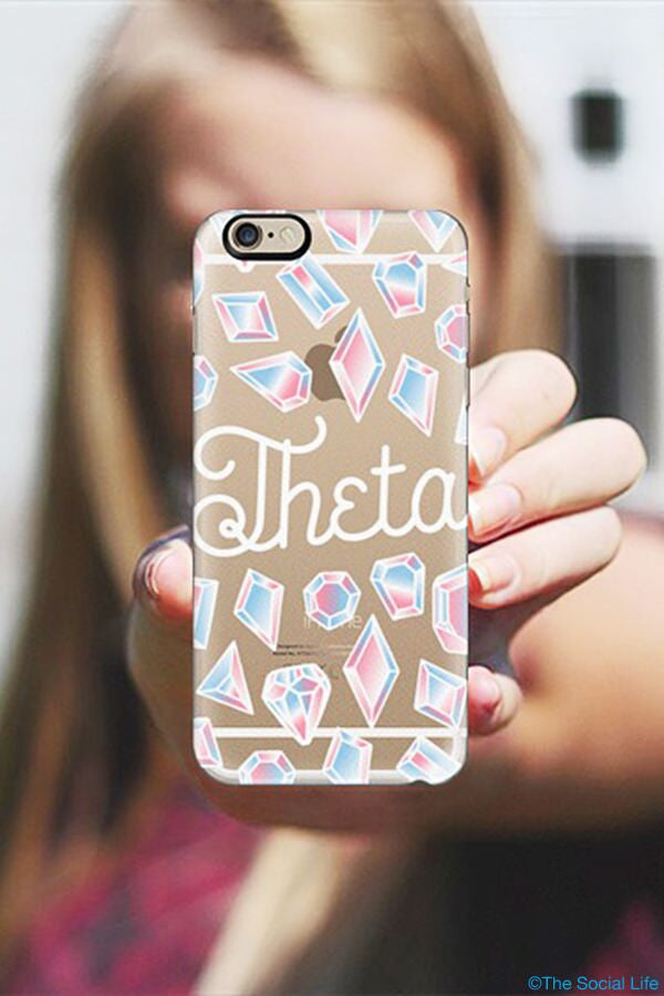 Kappa Alpha Theta Custom Snap Case
