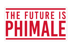 Future Is PHIMALE Alpha Phi Decal