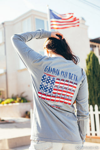 Gamma Phi Beta America Long Sleeve