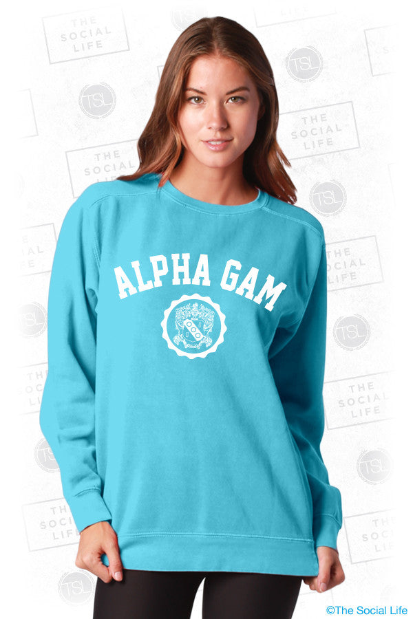 Alpha Gamma Delta Resort Crewneck