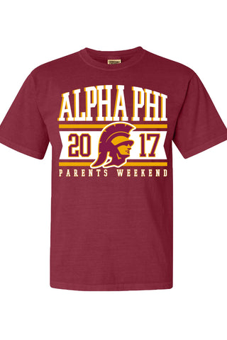 USC Alpha Phi Parents Weekend Trojan Tee