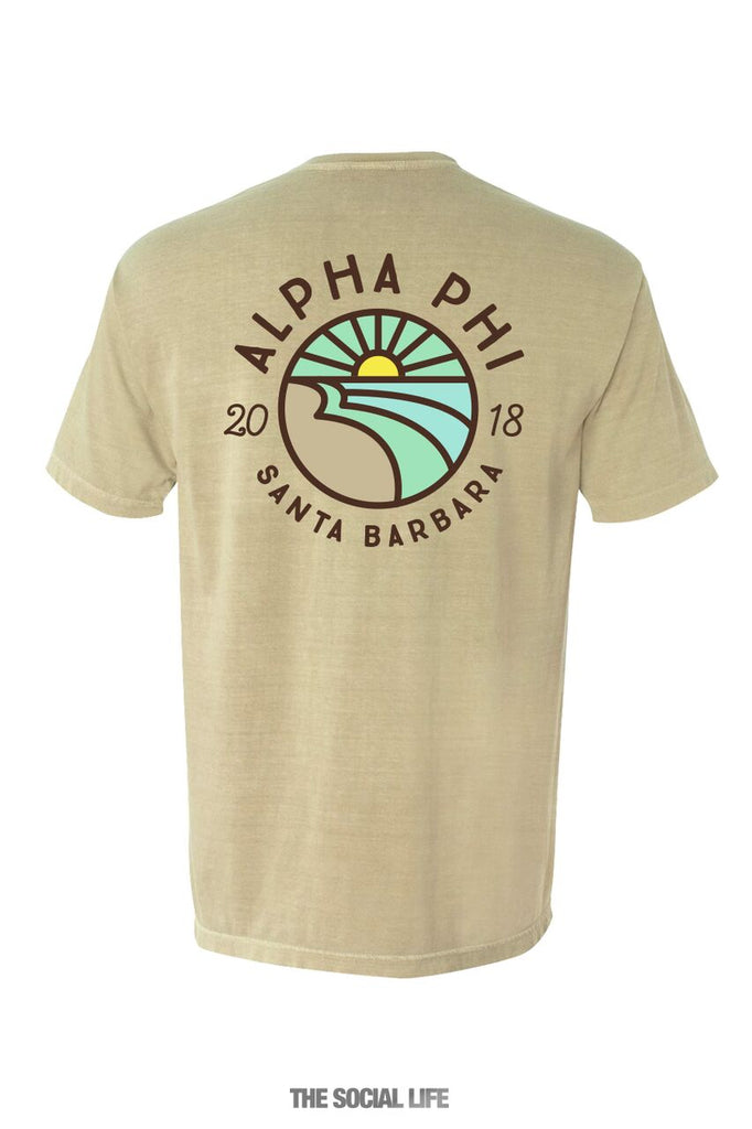 UCSB APhi Wave Tees