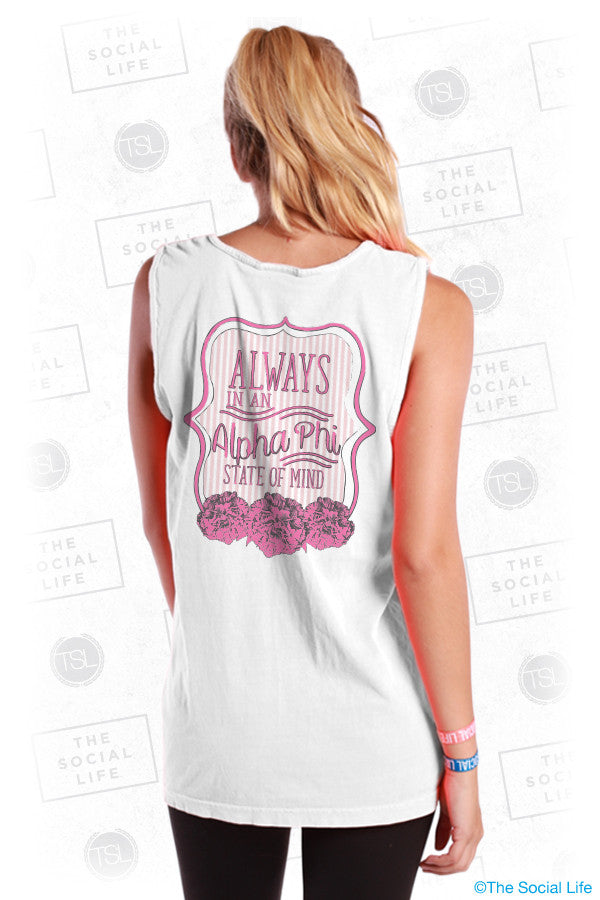 Alpha Phi State of Mind Tank