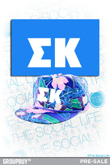 Custom Hawaiian Snapback!