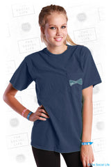 Chi O Boyfriend Pocket Tee