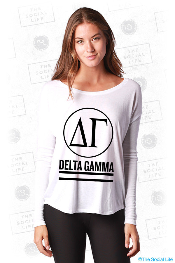 Delta Gamma Classic Long Sleeves