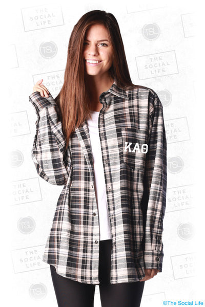 Kappa Alpha Theta Boyfriend Flannel The Social Life