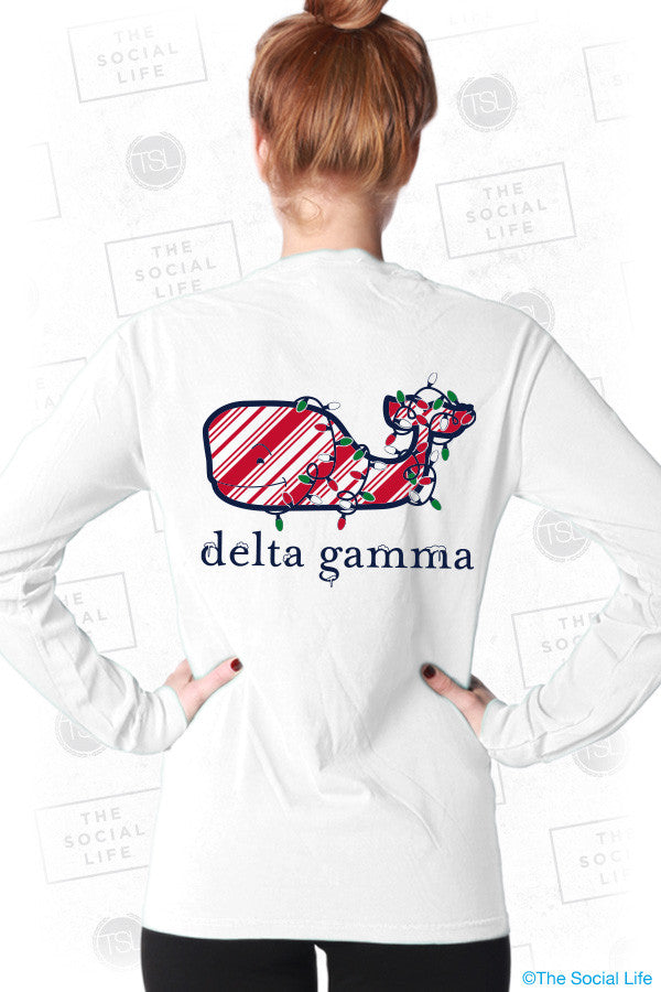 Delta Gamma Holiday Long Sleeve