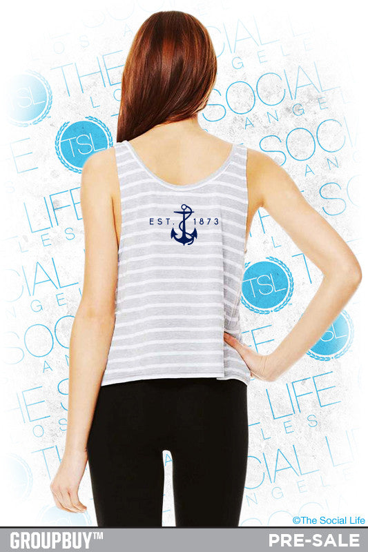 DG Nautical Striped Crop
