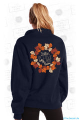 Fallin in Love with Delta Phi Epsilon Sweatshirt