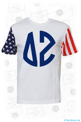 Delta Zeta Stars and Stripes Tee