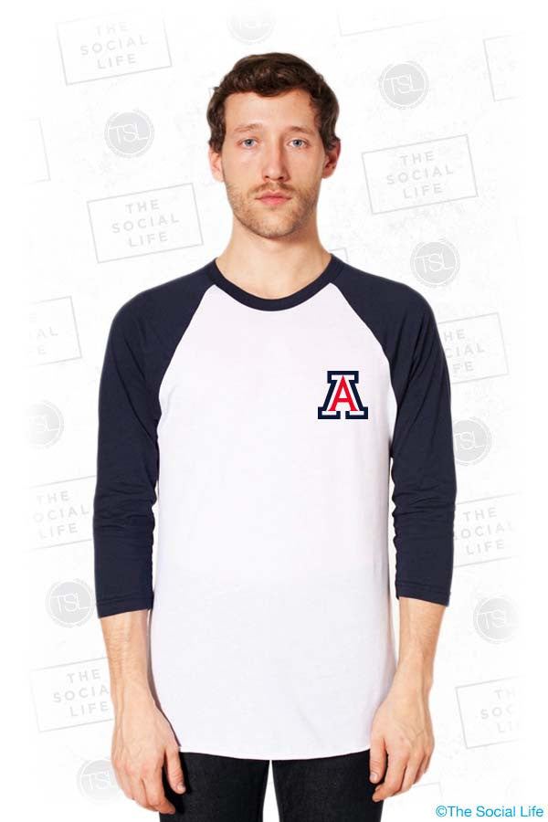 U of A Gamma Phi Beta Baseball Raglan