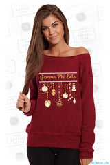 Gamma Phi Beta Ornaments Sweatshirt