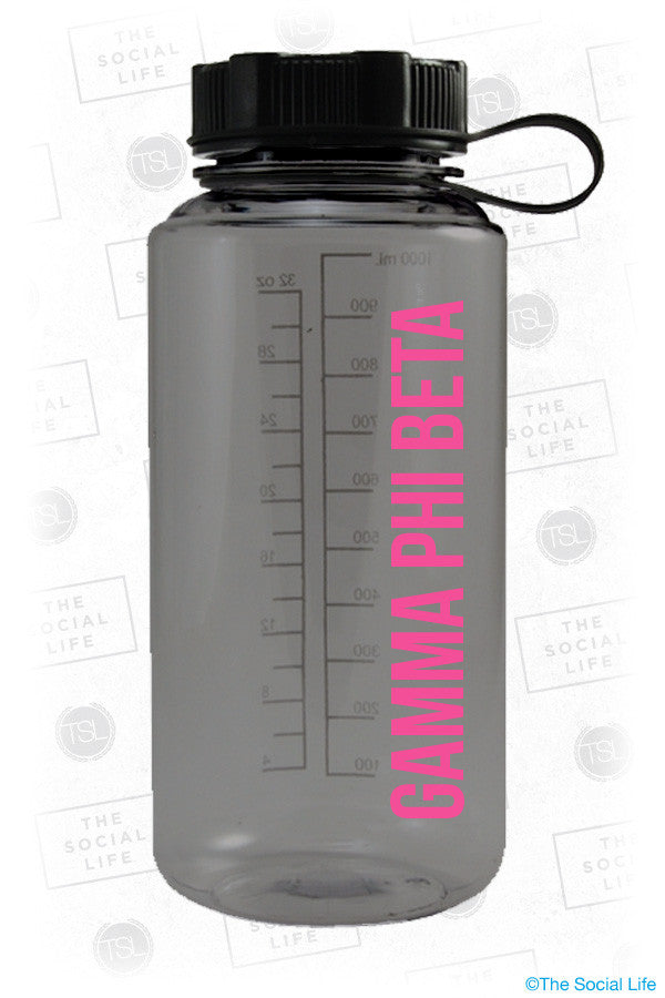 Gamma Phi Beta Water Bottle