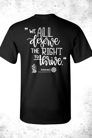 Right To Thrive Tee