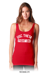 USC Theta Red Gameday Tank