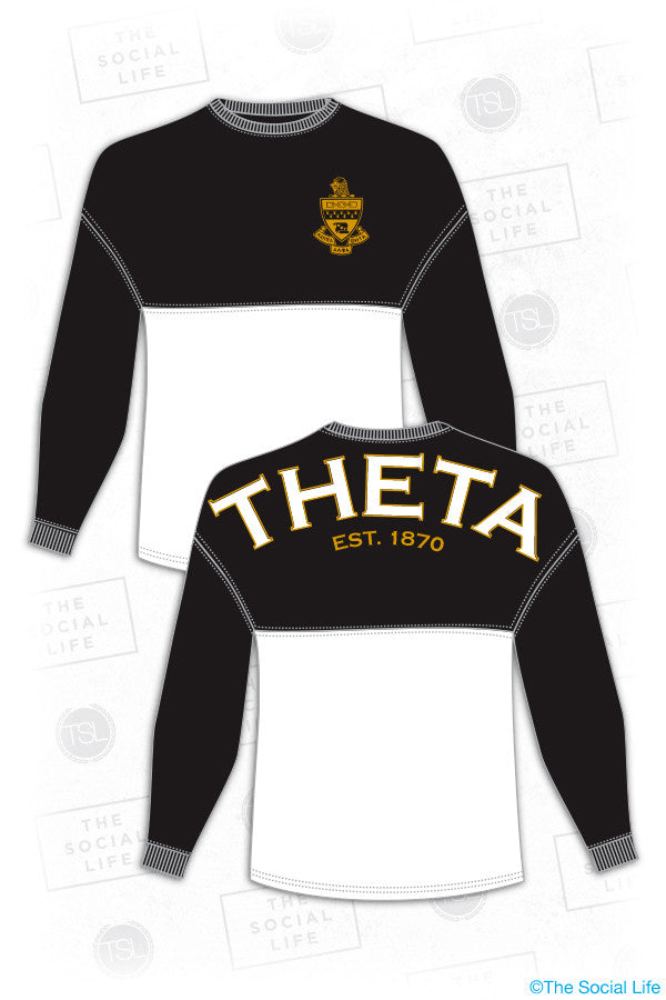 Theta Color Block Spirit Jersey