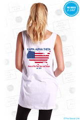 KAO Stars n Stripes Pocket Tank