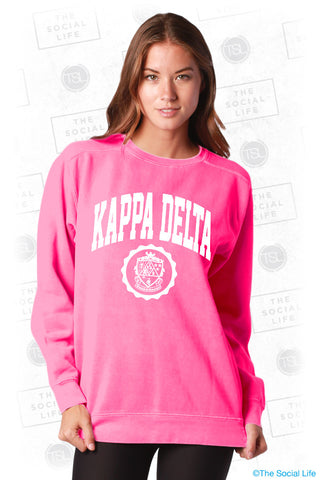 Kappa Delta Resort Crewneck