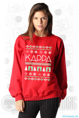 Kappa Kappa Gamma Ugly Holiday Crewneck