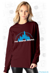 Phi Sigma Sigma Castle Long Sleeve