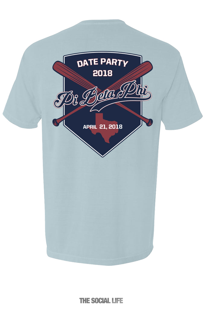 UNT Pi Phi Date Party Tee (2 Shirts)