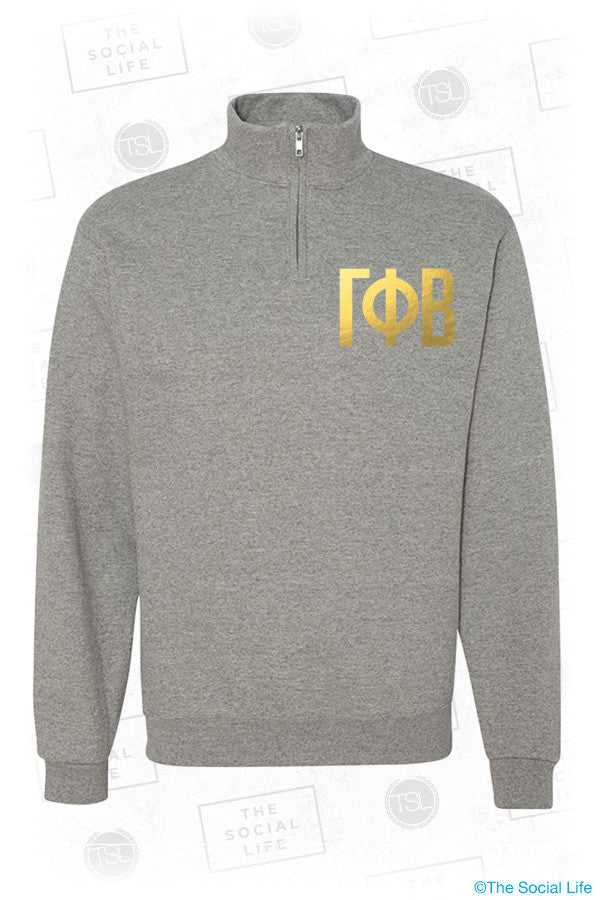 Love GPHI Quarter Zip Sweatshirt