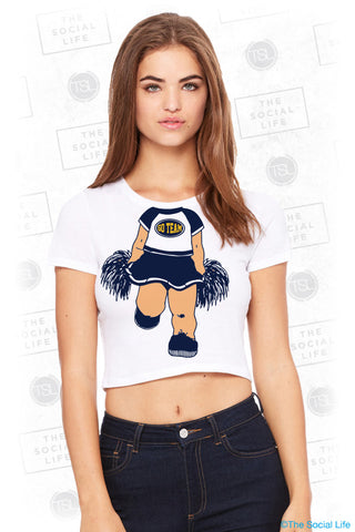 UMICH ZTA Cheerleader Tee
