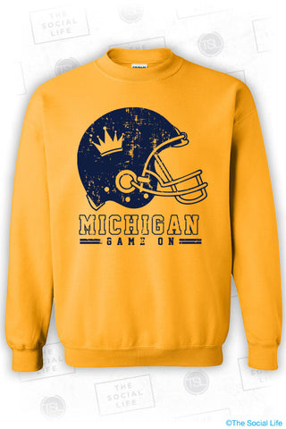 UMICH ZTA Game Day Sweatshirt