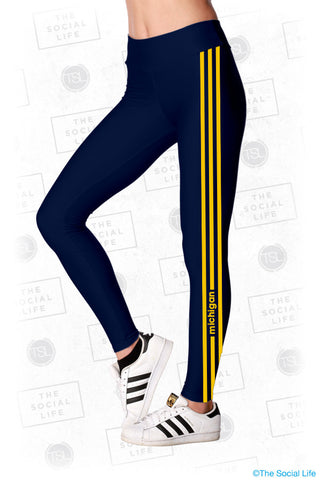 UMICH ZTA Leggings