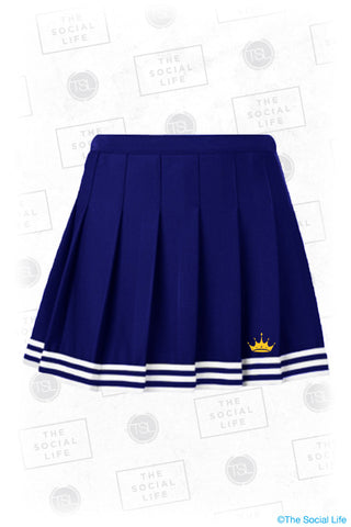 UMICH ZTA Cheer Skirt