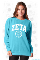 Zeta Tau Alpha Resort Crewneck