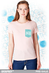 APhi Chevron Pocket Tee