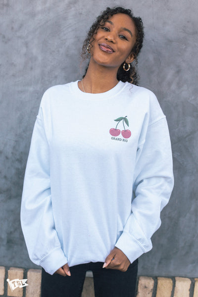 G Big's Cherry Crewneck