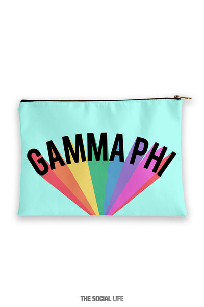 Gamma Phi Beta Colorblast Cosmetic Bag