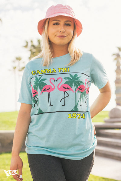 Gamma Phi Beta Flamingo Tee