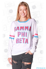 Gamma Phi Beta Frosted Long Sleeve