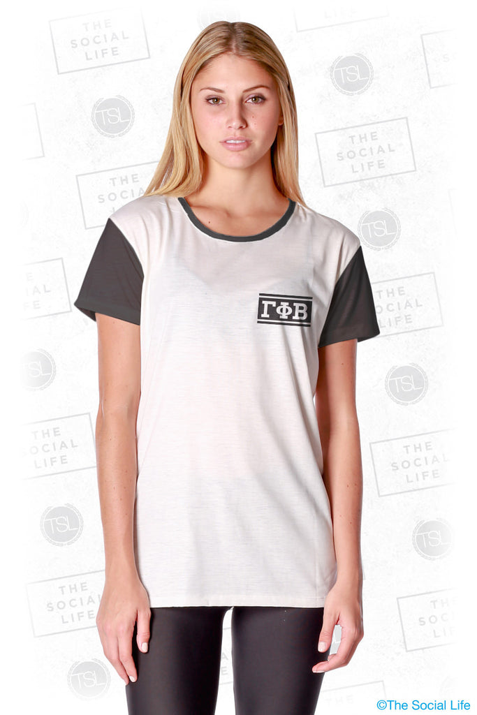 Gamma Phi Beta Hang Loose Scoop Tee