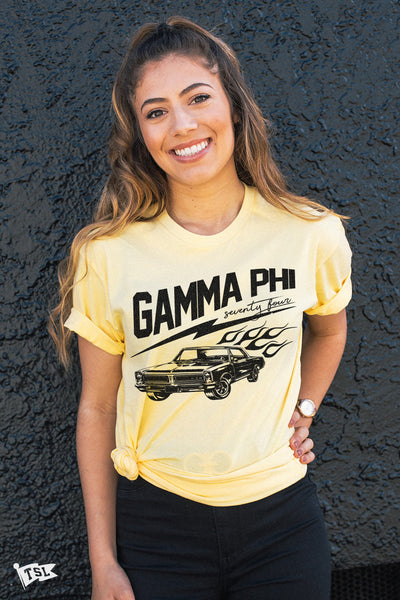 Gamma Phi Beta Highway Tee