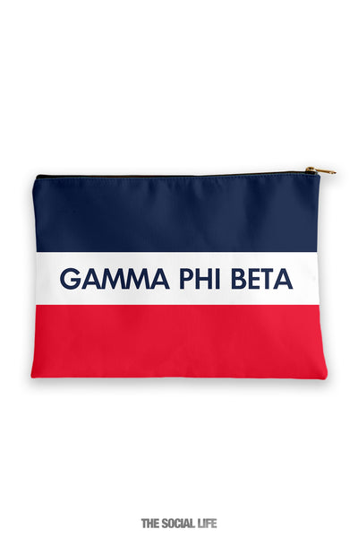 Gamma Phi Beta Merci Cosmetic Bag