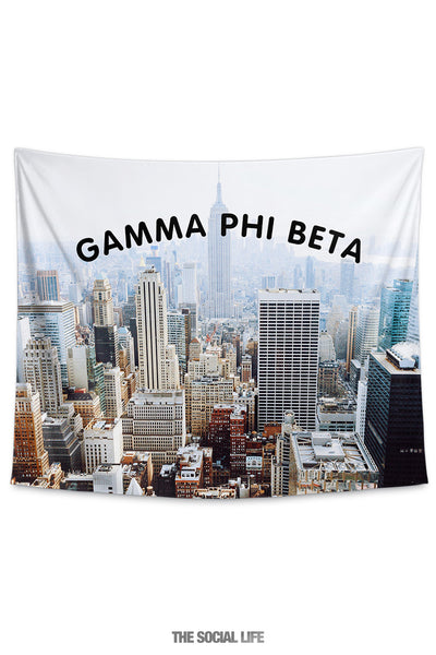 Gamma Phi Beta NYC Tapestry