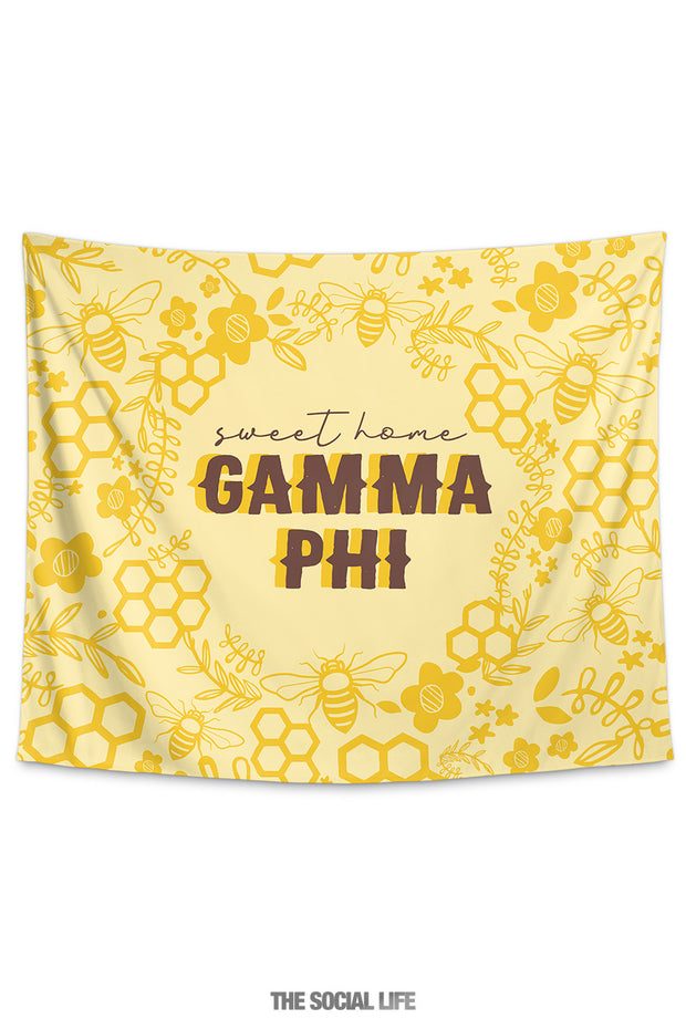 Gamma Phi Beta Sweet Home Tapestry