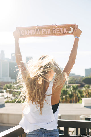 Gamma Phi Beta Vintage Sign
