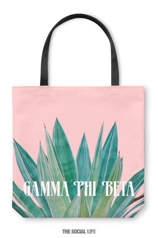 Gamma Phi Beta Agave Tote Bag