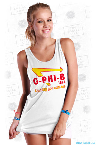 Gamma Phi Beta Arrow Tank