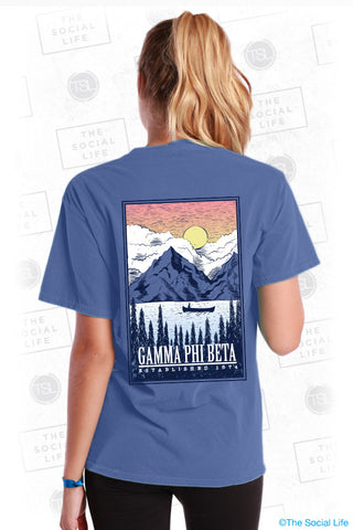 Gamma Phi Beta Mountaineer Tee