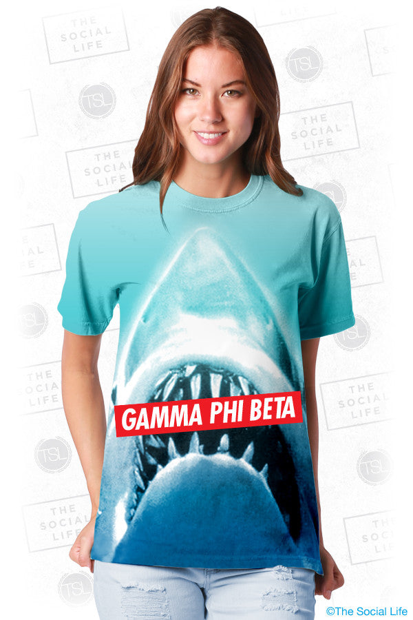 Gamma Phi Beta Sharky Top