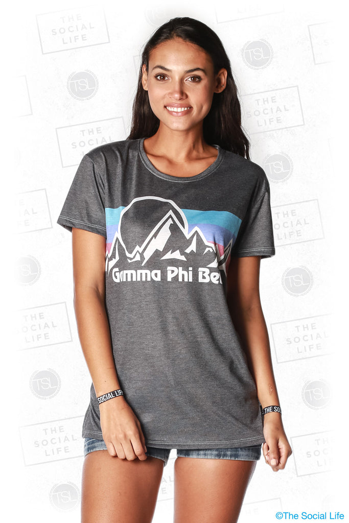 Gamma Phi Beta Summit Scoop Tee