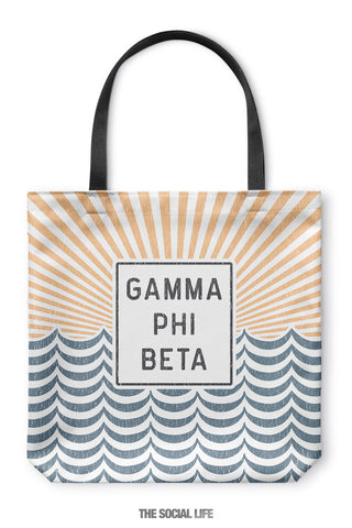 Gamma Phi Beta Sunshine Tote Bag