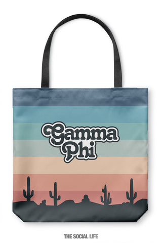 Gamma Phi Beta Desert Tote Bag